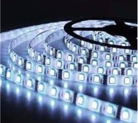 FITA DE LED 5050 12v 5m siliconada branca fria  2f3eaf4ff29